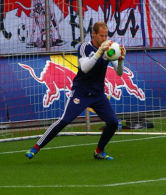Péter Gulácsi - Gulácsi playing for Red Bull Salzburg FC