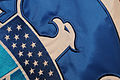 FEMA - 40200 - Close up of DHS Flag - detail of eagle.jpg