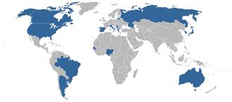 1998 FIBA World Championship - Competing teams