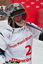 FIS Moguls World Cup 2015 Finals - Megève - 20150315 - Justine Dufour-Lapointe.jpg