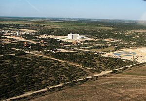Fundamentalist Church of Jesus Christ of Latter-Day Saints - A view of the FLDS ranch in Eldorado, Texas