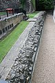 FORMER DOCK RETAINING WALLS TO MOAT AROUND JEWEL HOUSE, OLD PALACE YARD SW1 2.jpg