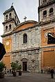 Façade de l'église Notre-Dame-et-Saint-Nicolas, Briançon, France.jpg