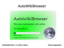 Facts about AutoWikiBrowser