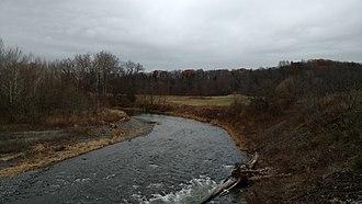 Fall Creek (New York) - Fall Creek in Varna, New York