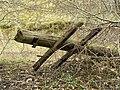 Fallen Telegraph Pole - geograph.org.uk - 722795.jpg