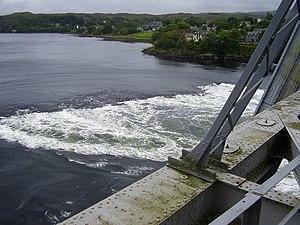Falls of Lora - The falls from Connel Bridge