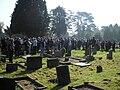 Fan gathering at Tolkien's gravesite.jpg