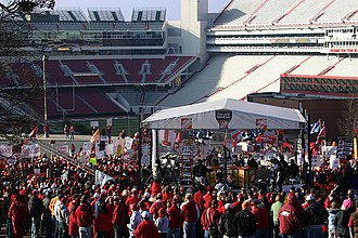 Arkansas Razorbacks - ESPN College Gameday at the University of Arkansas.