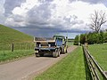 Farm traffic - geograph.org.uk - 427532.jpg