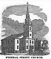 FederalStChurch Boston HomansSketches1851.jpg