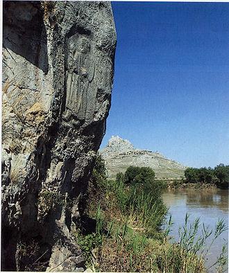 Muwatalli II - Depiction of Muwatalli II on a relief at Sirkeli Höyük