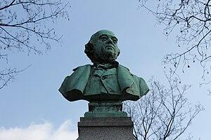 Ferdinand Barbedienne - Ferdinand Barbedienne's tombstone in Père Lachaise Cemetery, Paris