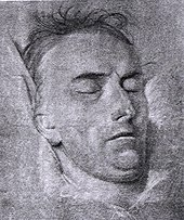 Schiller on his deathbed – drawing by the portraitist Ferdinand Jagemann, 1805 (Source: Wikimedia)