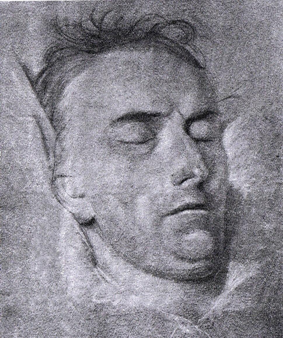 Ferdinand Carl Christian Jagemann Schiller auf dem Totenbette 1805.jpeg