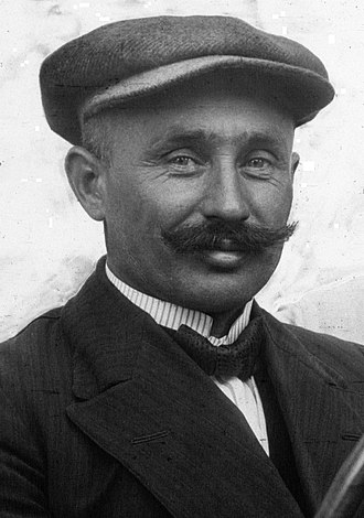 Ferenc Szisz - Szisz at the 1914 French Grand Prix