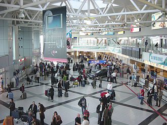 Budapest Ferenc Liszt International Airport - Terminal 2B check-in area