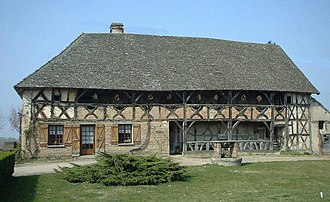 Baudrières - Typical old Bresse farmhouse