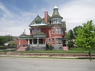 Carbon County, Wyoming - George Ferris Mansion,  Rawlins