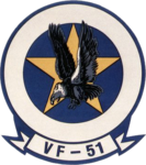 Fighter Squadron 51 (US Navy) patch c1990.png