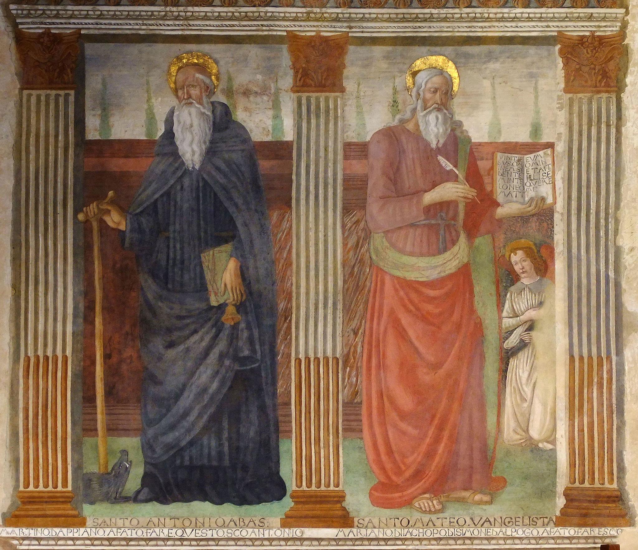 Filippelli santi Antonio Abate e Matte