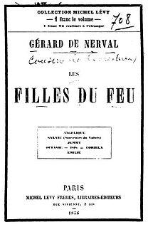 <i>Les Filles du feu</i> book by Gérard de Nerval