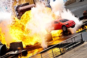 Moteurs... Action! Stunt Show Spectacular - The show's finale