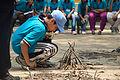 Fire-making - Survival Programme - Summer Camp - Nisana Foundation - Sibpur BE College Model High School - Howrah 2013-06-09 9685.JPG