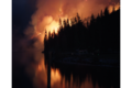 Fire Burning @ Night Along the Clackamas River, Mt Hood National Forest (23346658692).png