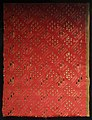 Firenze, tessuto stratagliato a maglie romboidali, raso di seta, 1590-1610 ca.jpg