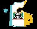 Flag map of the Hopi Reservation.png