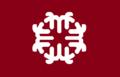 Flag of Yatsuka Shimane Informal version.png