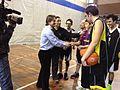 Flickr - Convergència Democràtica de Catalunya - Oriol Pujol al Recinte Mundet gravant el Reporatge social del progra Parlament de TV3 amb Special Olympics (4).jpg