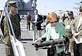Flickr - Official U.S. Navy Imagery - Former first lady Rosalynn Carter examines a Marine's rocket launcher..jpg