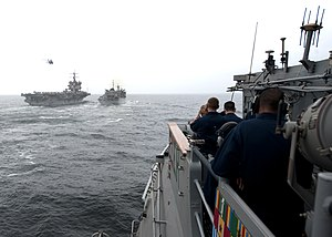 Flickr - Official U.S. Navy Imagery - Sailors observe an underway replenishment..jpg