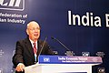 Flickr - World Economic Forum - Klaus Schwab - India Economic Summit 2007.jpg