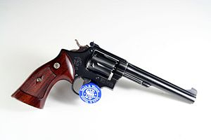 Smith & Wesson Model 17 - Image: Flickr ~Steve Z~ Smith ^ Wesson K22 Pre 17