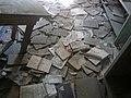 Floor of library at former Stara Gradiska Prison.jpg