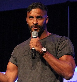 Ricky Whittle English film and television actor