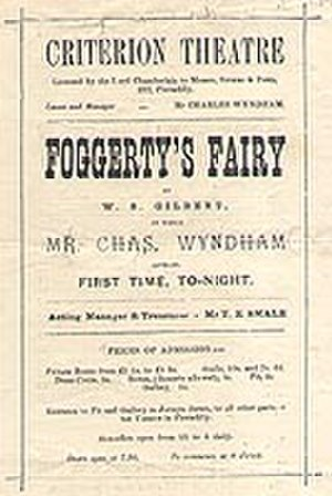 Foggerty's Fairy - First night programme