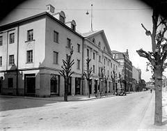 Folkets hus i Örebro i 1930'erne.