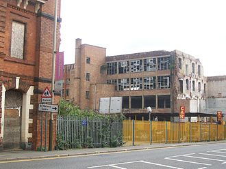 Frog Island, Leicester - Former Frisby-Jarvis building on Frog Island, Leicester