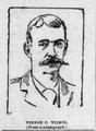 Former Texas Ranger, Vernon C Wilson, sketch from a photograph San Francisco Examiner September 15, 1892.png
