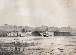 Fort Bridger - Fort Bridger, 1850.