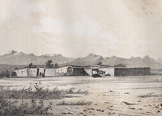 Fort Bridger - Fort Bridger, 1850.