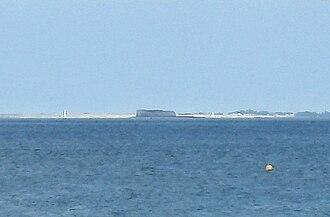 Fort Énet - Image: Fort Enet from Ile d Oleron