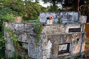 Fort Emmanuel - Image: Fort cochin relics