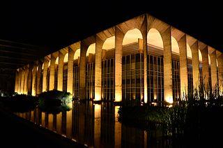 palace in Brasília, Brazil
