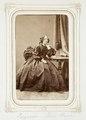 Fotografiporträtt på Eugenie Du Rees - Hallwylska museet - 107844.tif