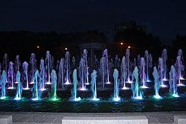 Fountain in Lubashinky garden in evening, July 2020 23.jpg